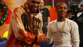Chris Brown and Bow Wow Visit BET's 106 & Park - December 18, 2006