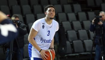 LiAngelo and LaMelo Ball Training with Vytautas Prienai
