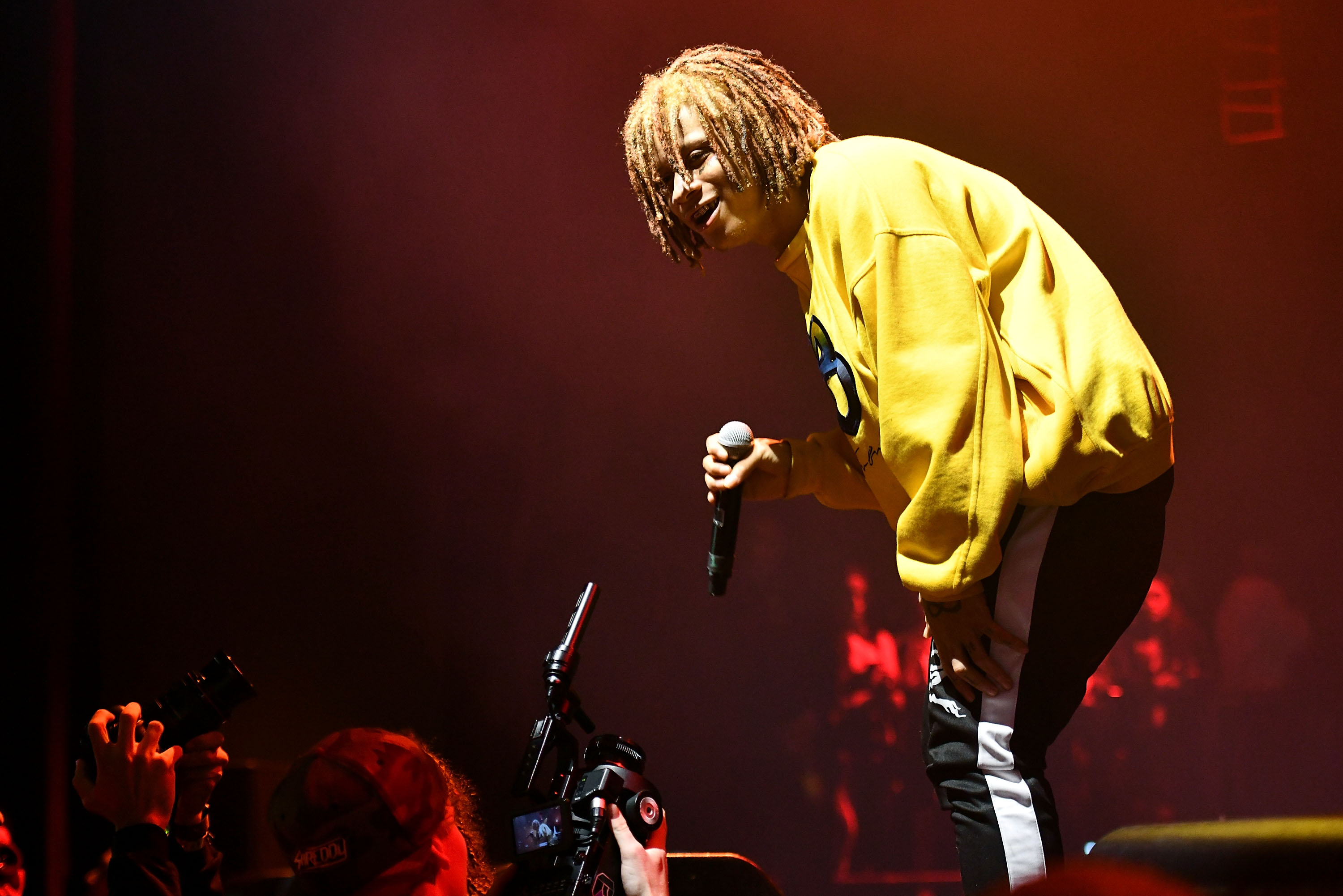 Trippie Redd Performs At The Novo