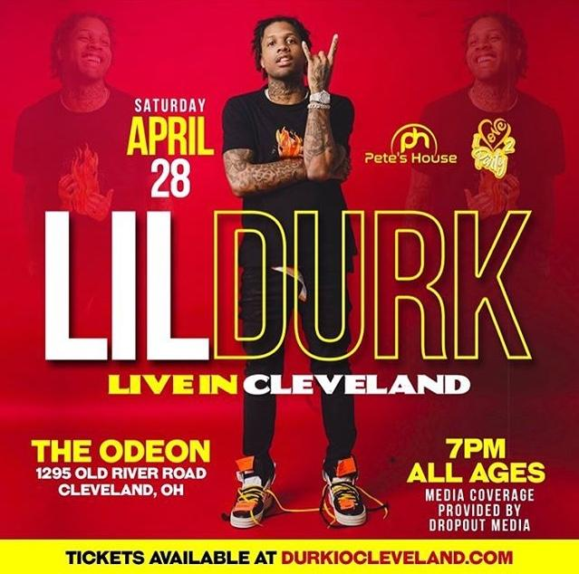 Lil Durk in Cleveland
