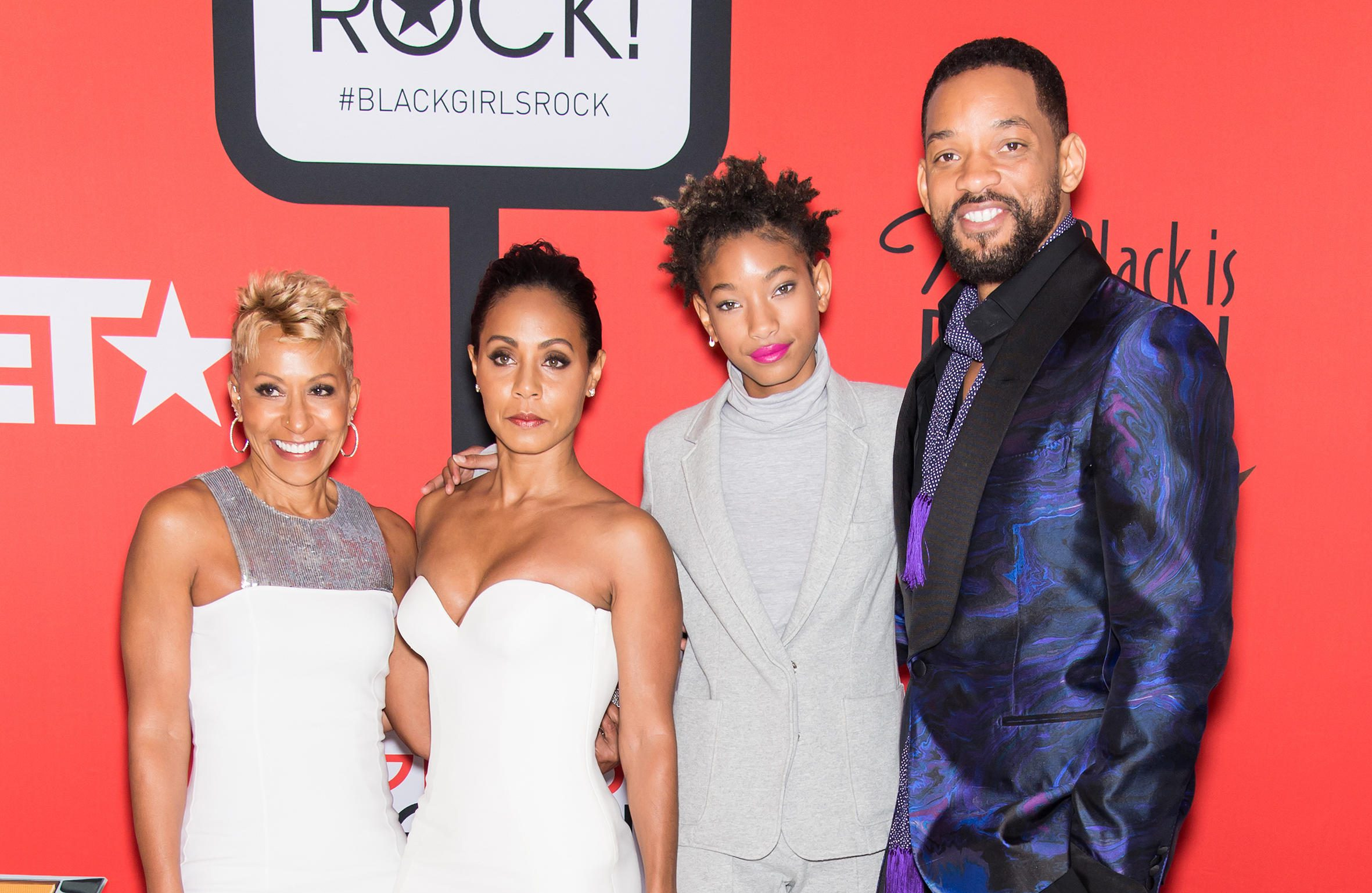 Willow Smith and the Smith Family