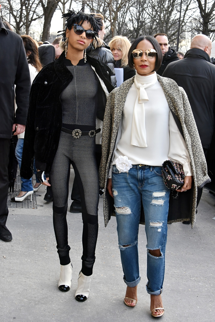 Jada Pinkett-Smith and Willow Smith