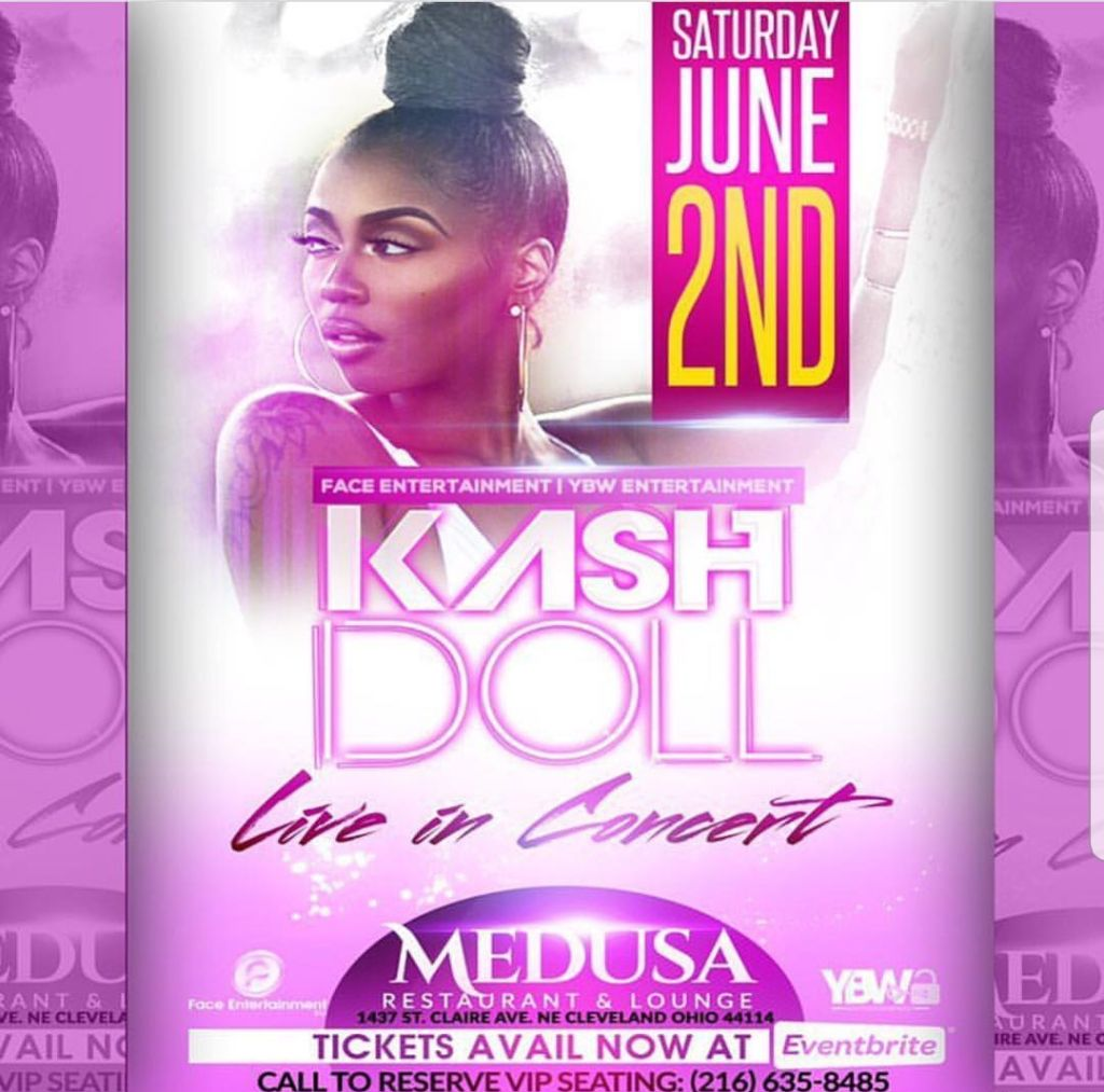 KashDoll Live AT Medusa