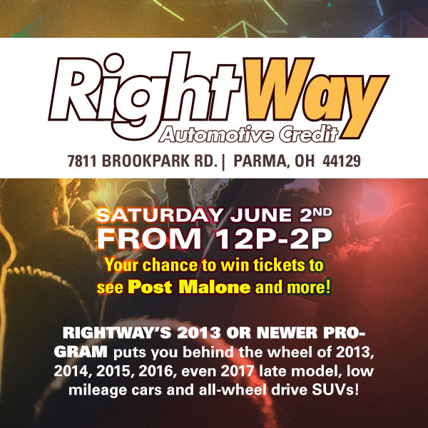 Rightway Auto Post Malone Ticket Tour
