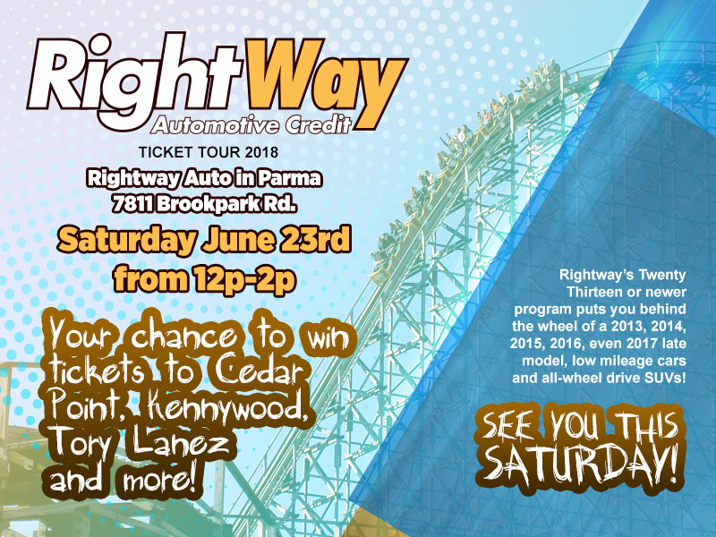 Rightway Auto Cedar Point Ticket Tour