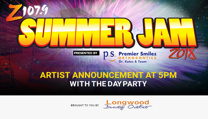 z1079 summer jam 2018 announcement