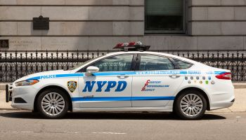 New York Police Department car, NYPD, Manhattan, New York City, New York, USA