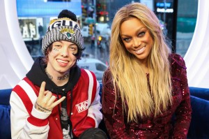 Celebrities Visit MTV TRL - January 9, 2018