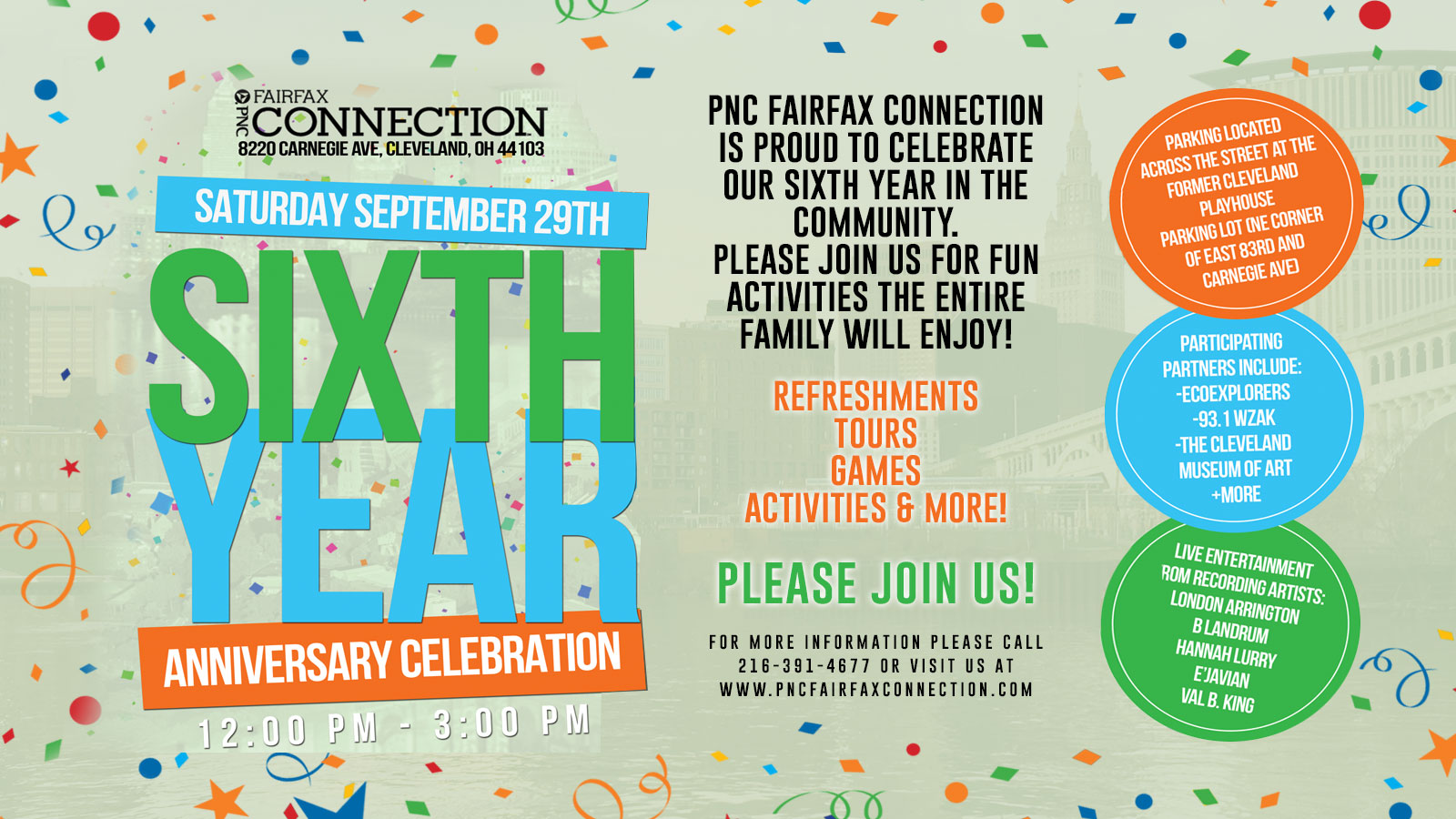 PNC 6th anniversary