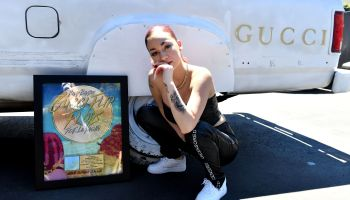 Bhad Bhabie Receives Gold Record For Her Song 'Gucci Flip Flops'