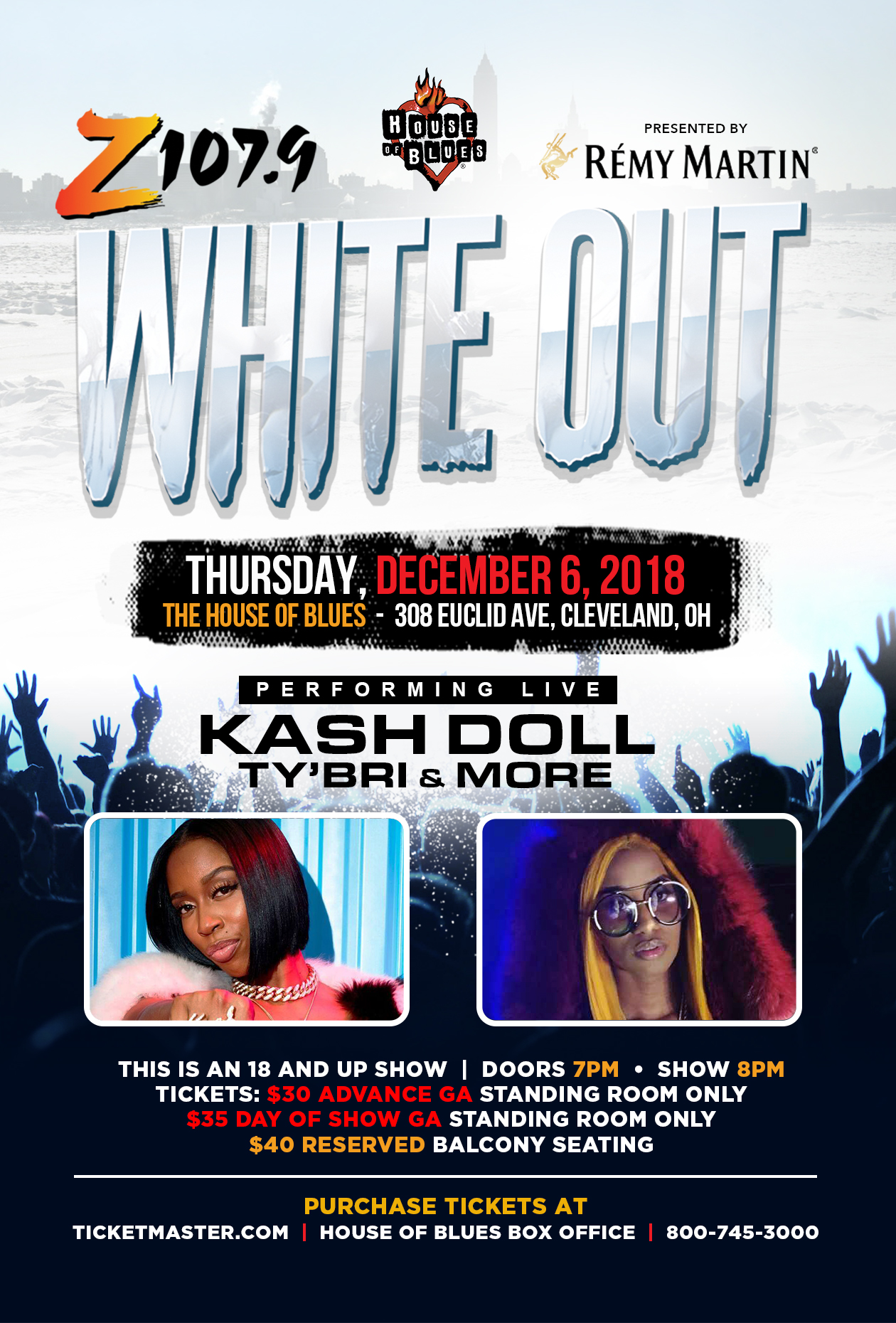 White Out 2018 Remy sponsor