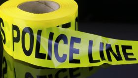 Roll of yellow police caution Tape