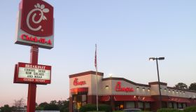 The exterior of Chick-fil-A in Thomasville.
