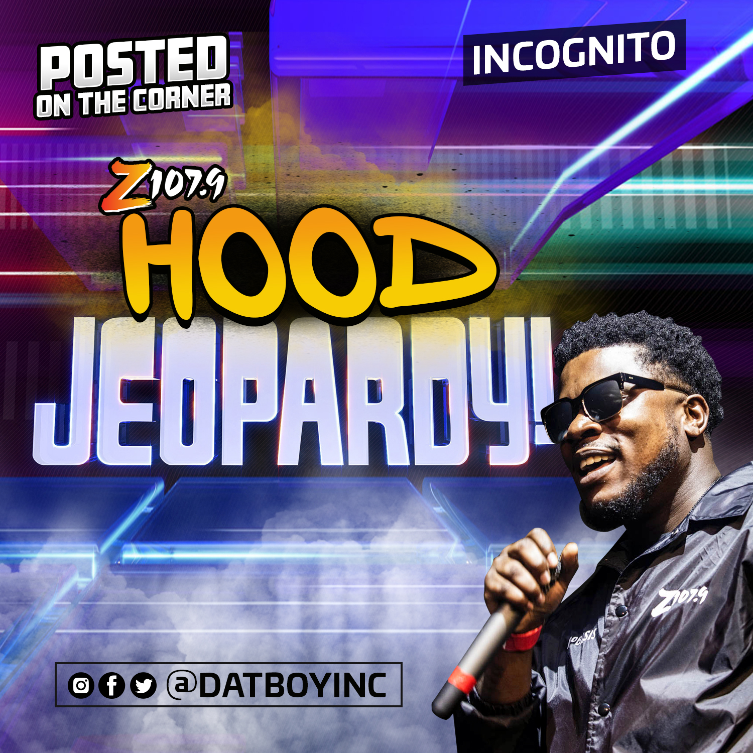 INCOGNITO POSTED ON THE CORNER Z1079
