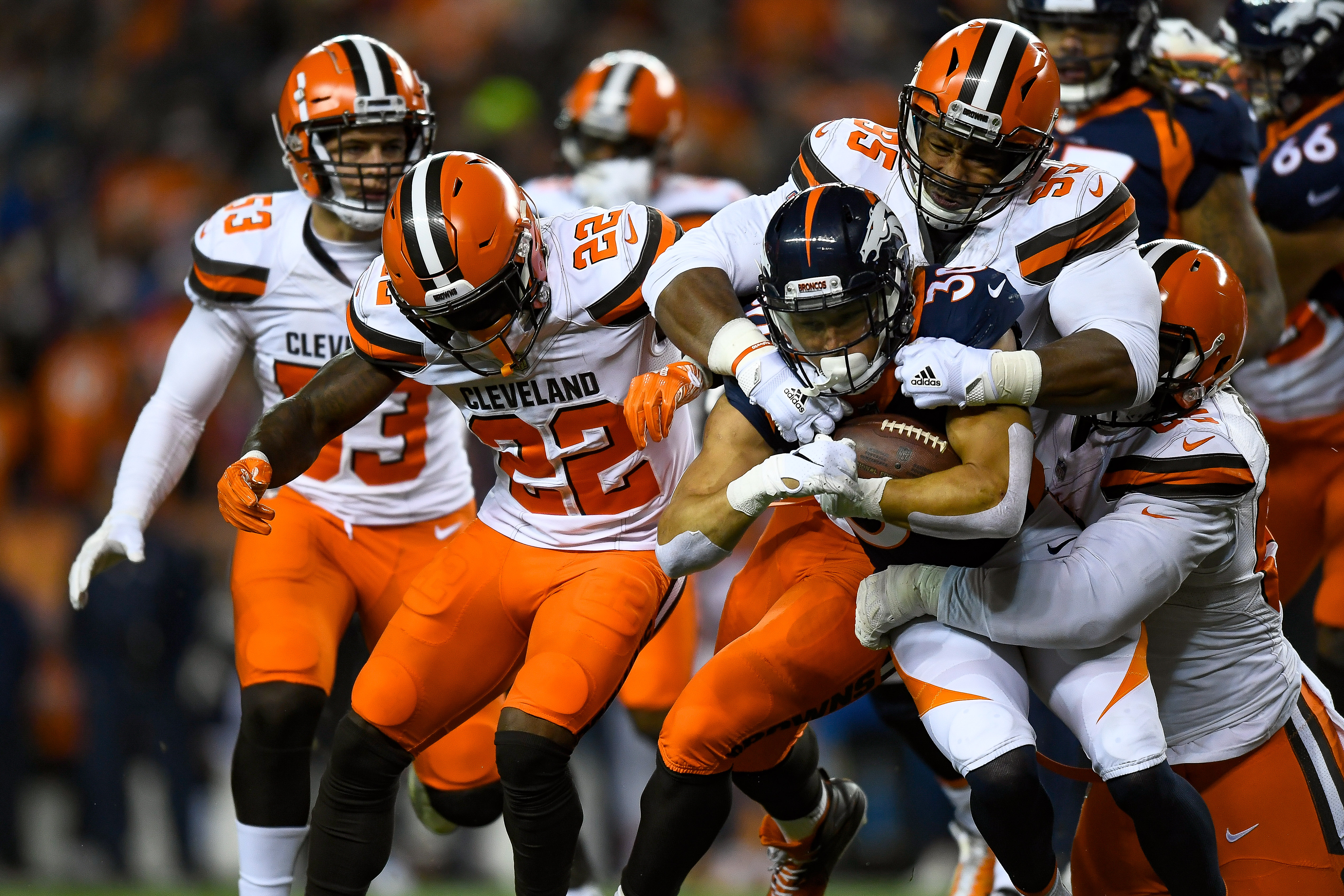 Cleveland Browns v Denver Broncos