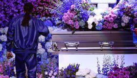 Nipsey Hussle's Celebration Of Life - Inside