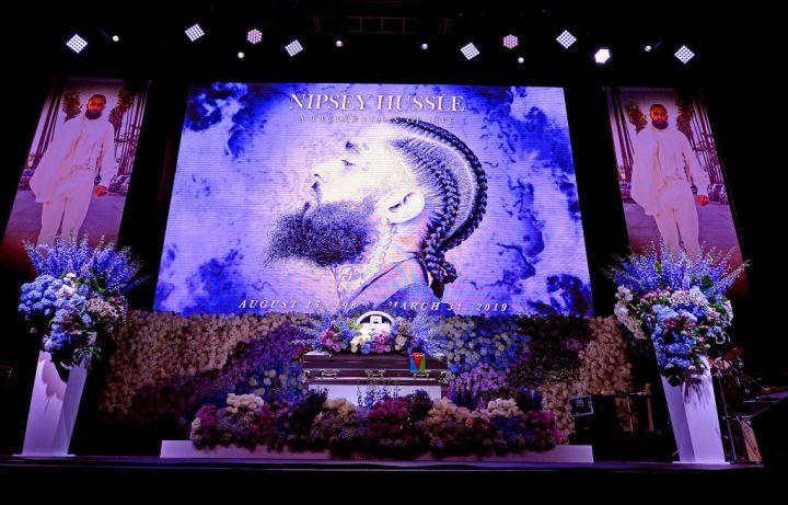 Nipsey Hussle's Celebration Of Life