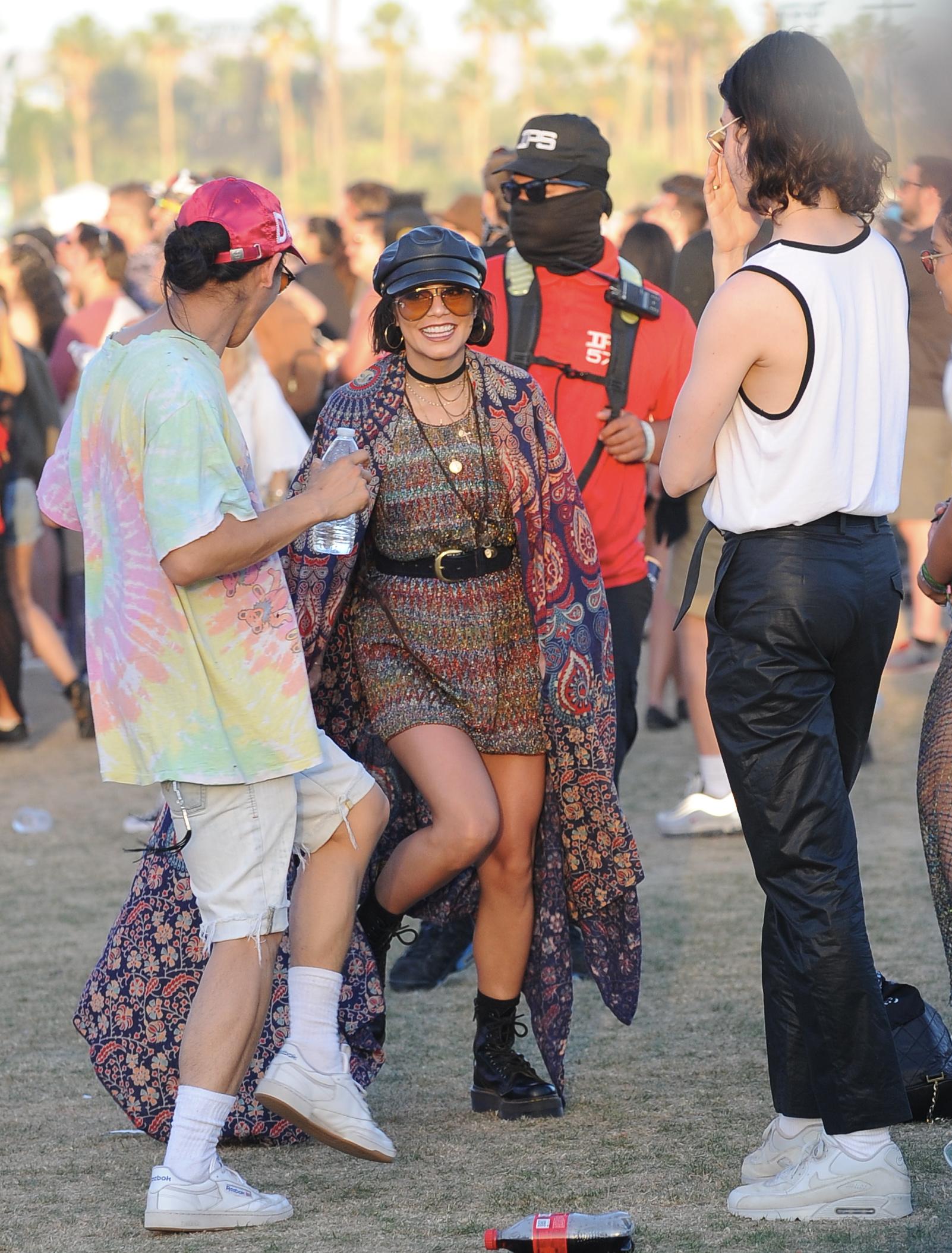 Vanessa Hudgens at Coachella