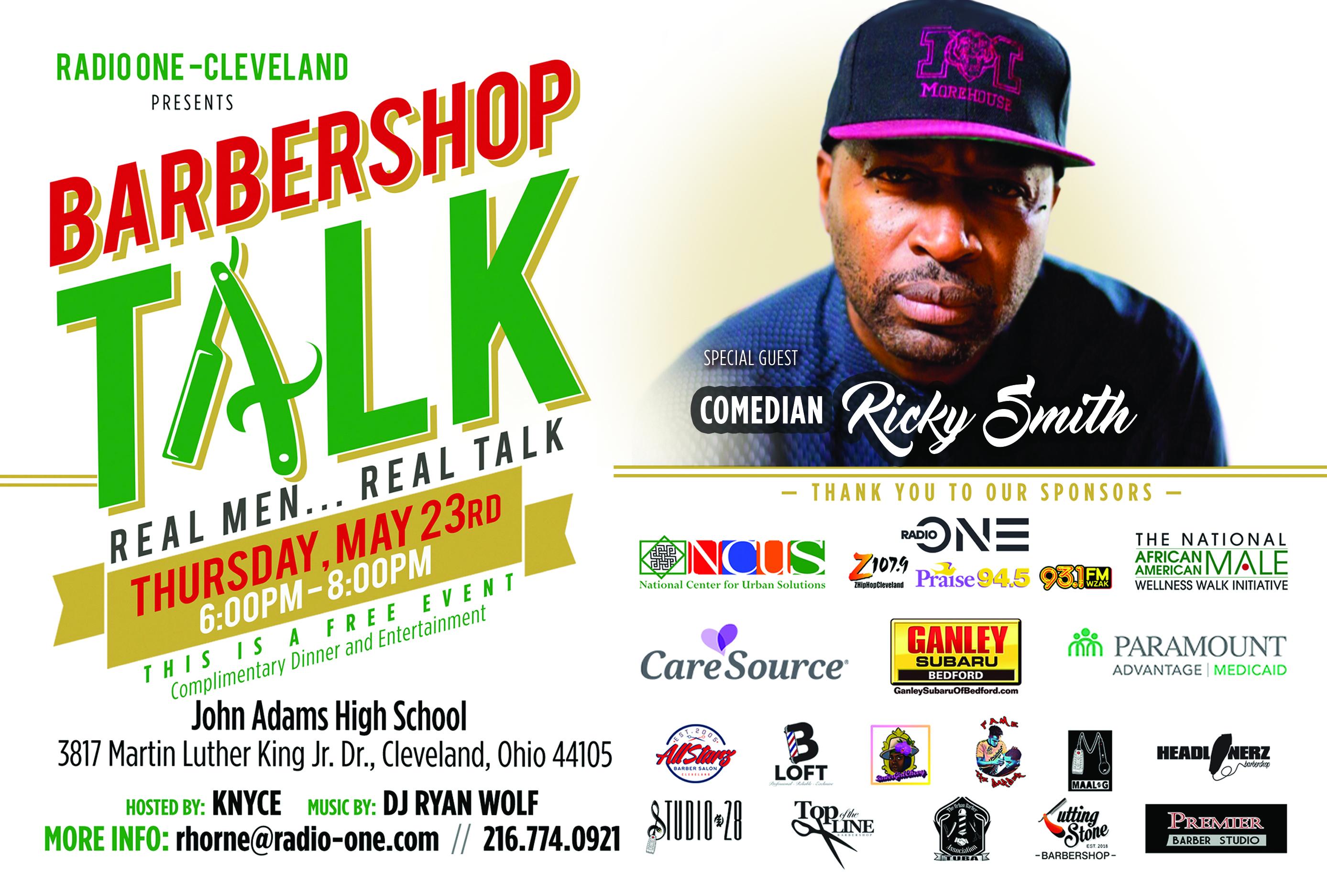 Barbershop Talk – Real Men, Real Conversations | Z 107 9
