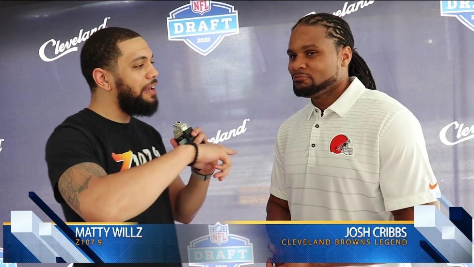 Josh Cribbs and Denzel Ward Interview