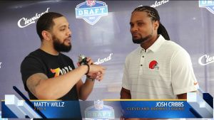 Josh Cribbs and Denzel Ward Interview
