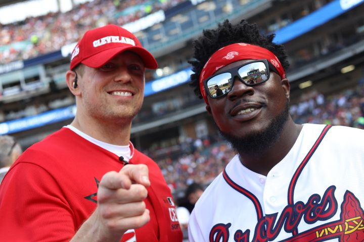 Z107.9 & Incognito Take Over The MLB All-Star Celebrity Softball Game