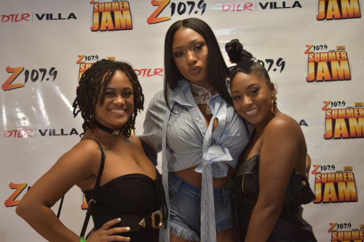 Z107.9 Summer Jam Megan the Stallion Meet and Greet