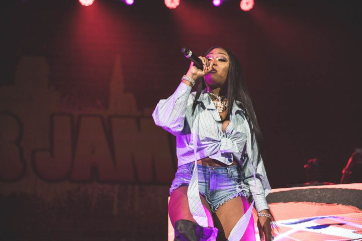 Megan Thee Stallion hits the Z107.9 Summer Jam stage!