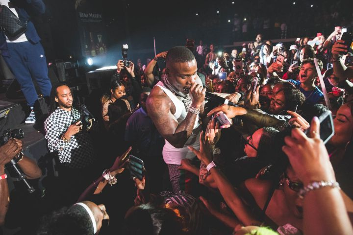 DaBaby hits the Z107.9 Summer Jam stage!