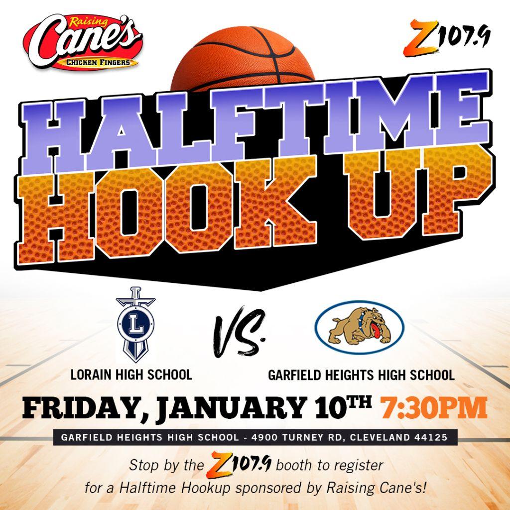 Raising Canes Halftime Hookup Cleveland Game 2