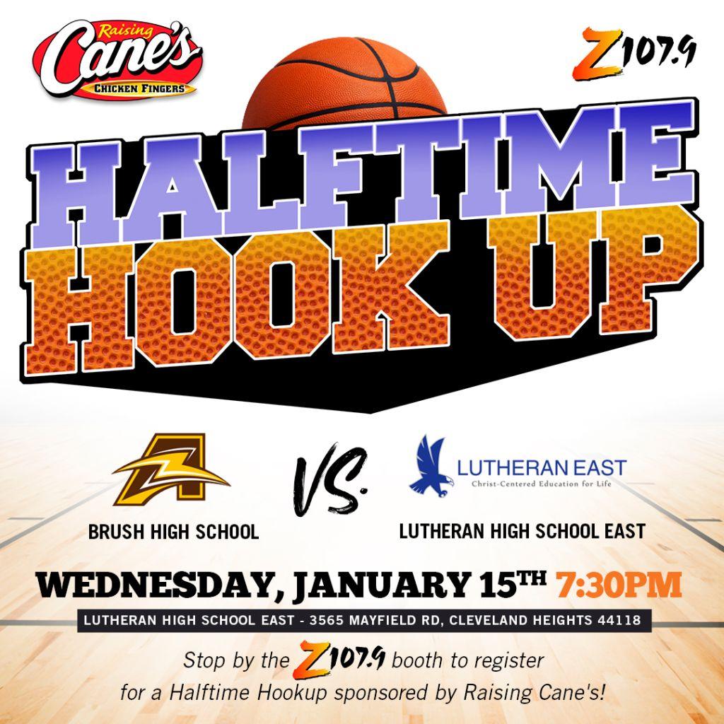 Raising Canes Halftime Hookup Cleveland Game 3