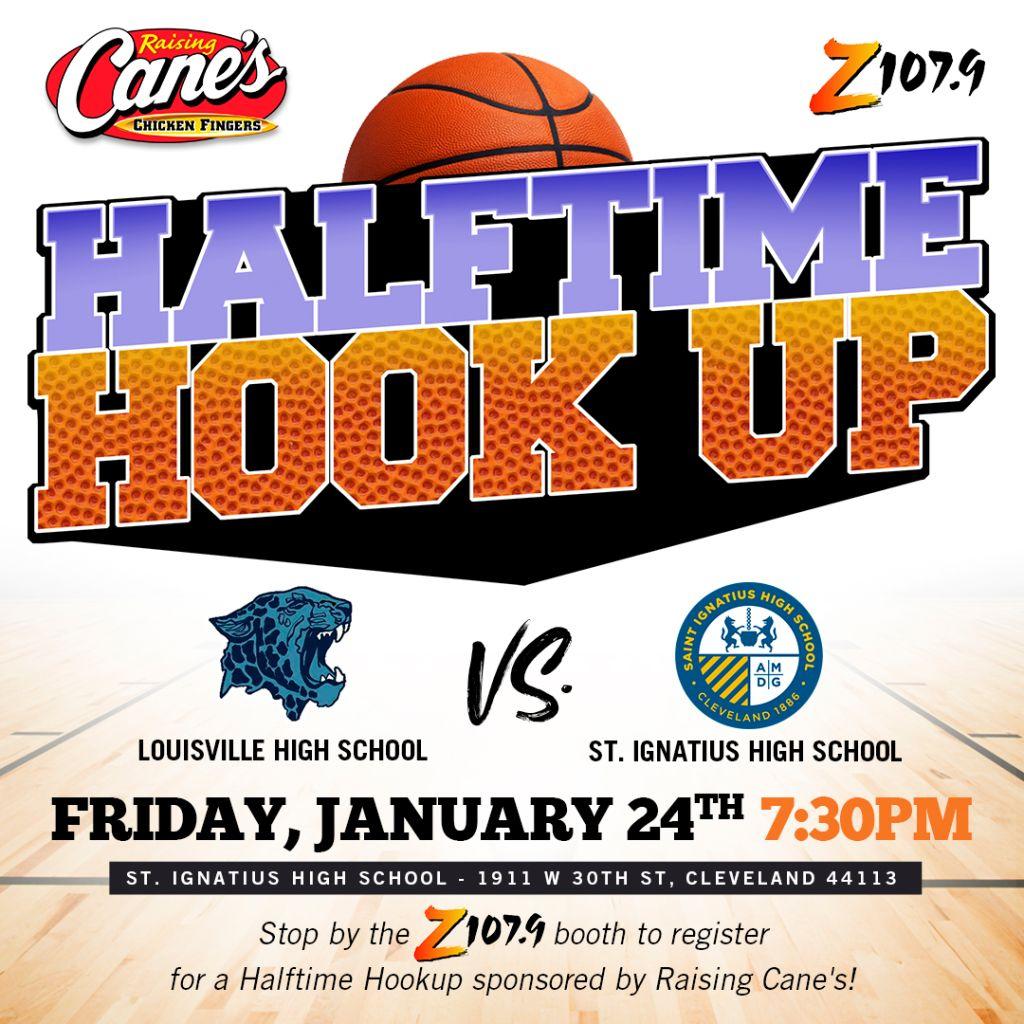 Raising Canes Halftime Hookup Cleveland Game 4