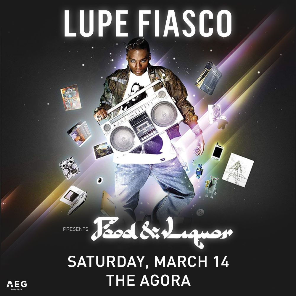 Enter To Win Tickets To See Lupe Fiasco At The Agora