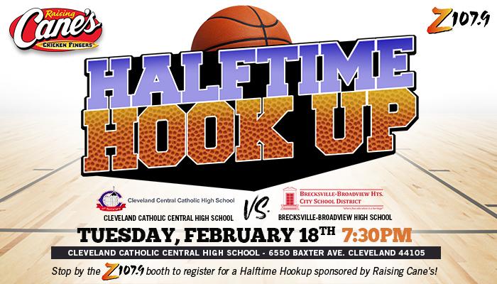 Raising Canes Halftime Hookup Cleveland Final Game