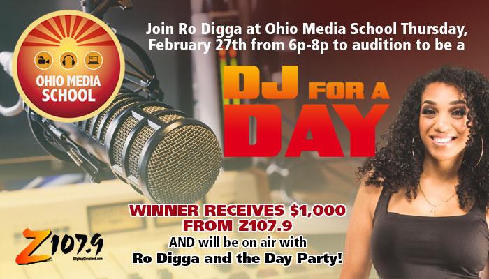 DJ For a Day Ohio Media School