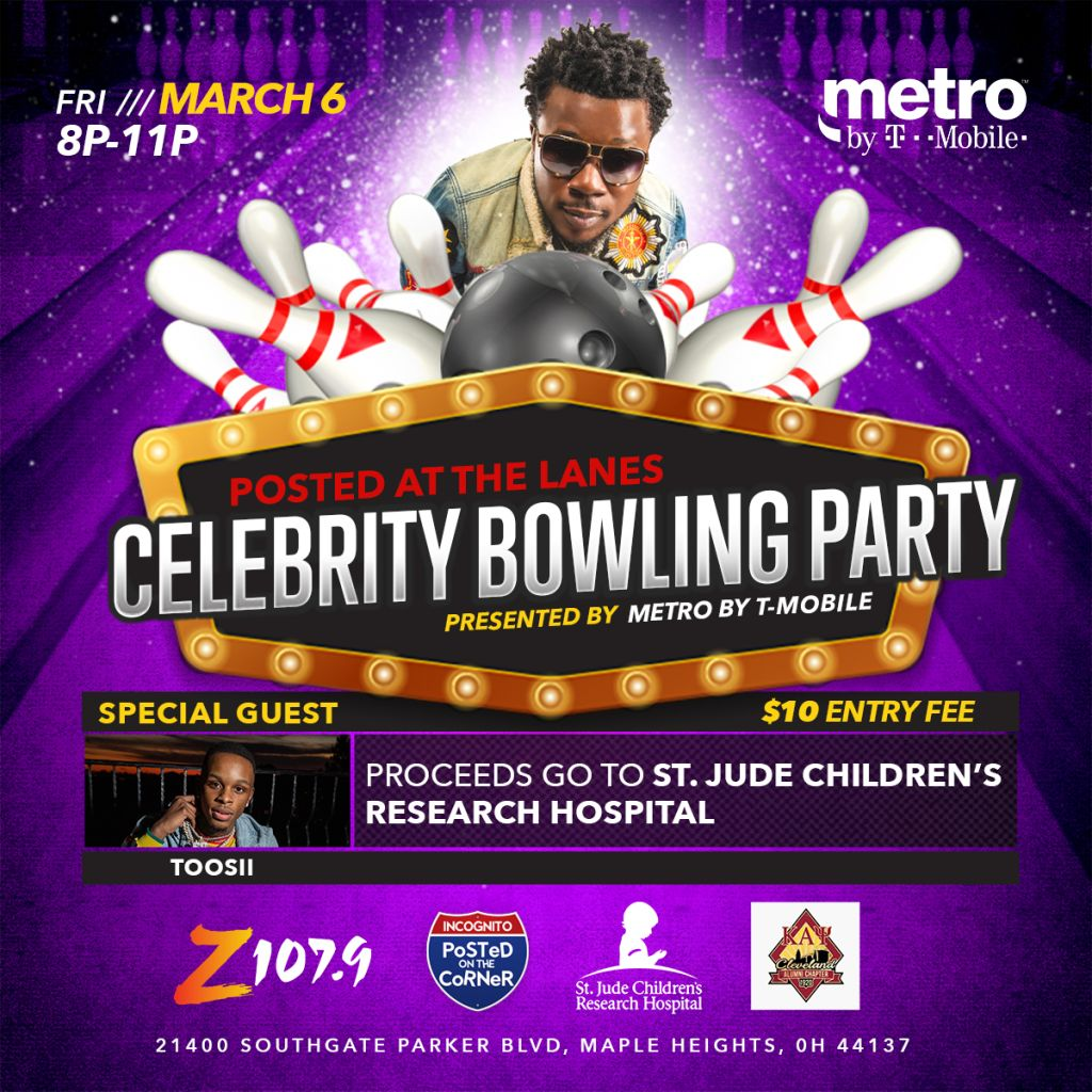 Metro by T-Mobile Posted at the Lanes Bowling Party