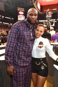 Celebrities Attend Los Angeles Lakers vs Atlanta Hawks