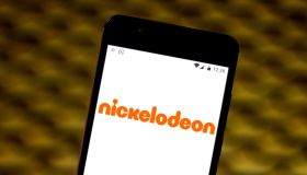 In this photo illustration the Nickelodeon logo is seen...