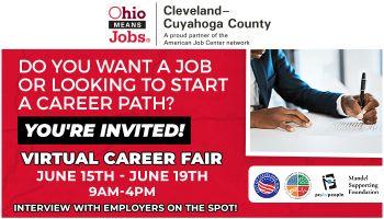 OH Means Jobs Cleveland Cuyahoga Virtual Career Fair
