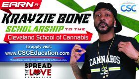 Cleveland School of Cannabis Krayzie Bone Scholarship